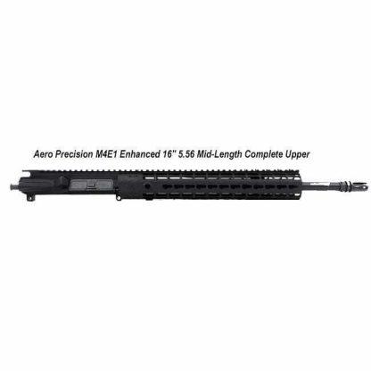 "Aero Precision M4E1 Enhanced 16"" 5.56 Mid-Length Complete Upper Receiver, Black, APPG600231P7, in Stock, For Sale"