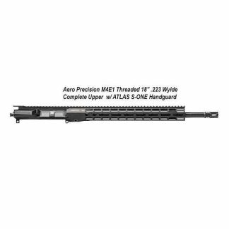 "Aero Precision M4E1 Threaded 18"" .223 Wylde SS QPQ Complete Upper Receiver w/ 15"" M-LOK ATLAS S-ONE Handguard, APPG700305M73, in Stock, For Sale"