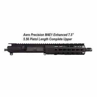"Aero Precision M4E1 Enhanced 7.5"" 5.56 Pistol Length Complete Upper Receiver, Black, APPG600211P0, in Stock, For Sale"