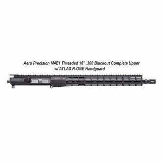 "Aero Precision M4E1 Threaded 16"" .300 Blackout Complete Upper Receiver w/ ATLAS R-ONE Handguard, Black, APPG700604P14, in Stock, For Sale"