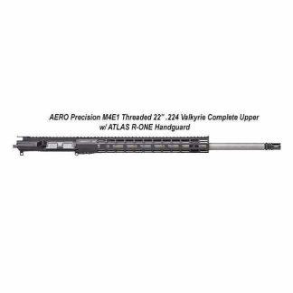 """AERO Precision M4E1 Threaded 22"""" .224 Valkyrie Complete Upper w/ ATLAS R-ONE Handguard, Black, APPG700705P58, in Stock, For Sale"""
