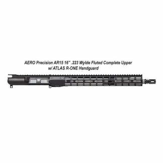 "AERO Precision AR15 16"" .223 Wylde Fluted Complete Upper w/ ATLAS R-ONE Handguard, APAR610605M50, in Stock, For Sale"
