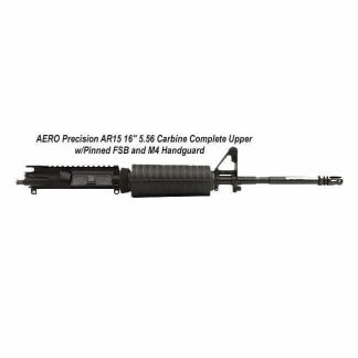 """AERO Precision AR15 16"""" 5.56 Carbine Complete Upper w/Pinned FSB and M4 Handguard, in Stock, For Sale"""