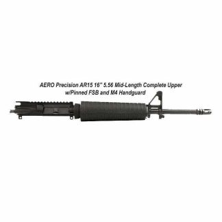 """AERO Precision AR15 16"""" 5.56 Mid-Length Complete Upper w/Pinned FSB and M4 Handguard, APAR505631, in Stock, For Sale"""