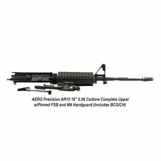 """AERO Precision AR15 16"""" 5.56 Carbine Complete Upper w/Pinned FSB and M4 Handguard (Includes BCG/CH), APAR505721, in Stock, For Sale"""