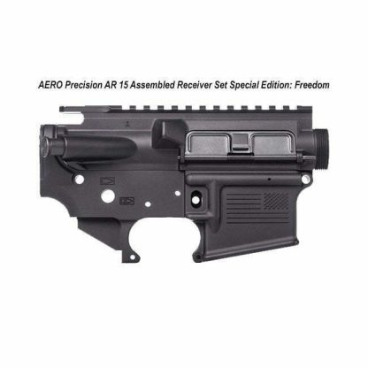 AERO Precision AR 15 Receiver Set, Assembled Special Edition Freedom, Black, APCS100017C, in Stock, For Sale