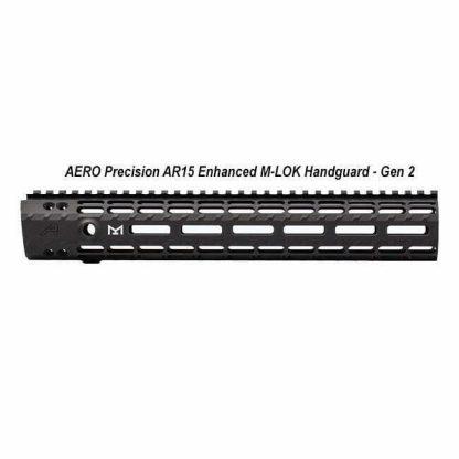 AERO Precision AR15 Enhanced M-LOK Handguard - Gen 2, APRA100275C, in Stock, For Sale