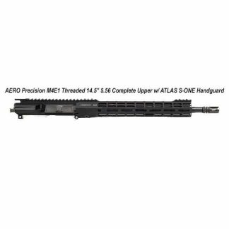 """AERO Precision M4E1 Threaded 14.5"""" 5.56 Complete Upper w/ ATLAS S-ONE Handguard, Black, APPG700304M5, in Stock, For Sale"""