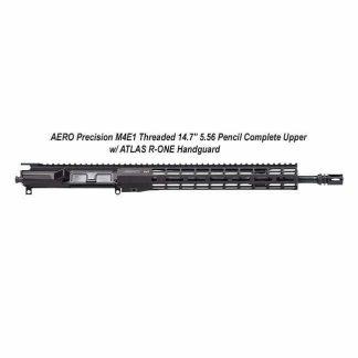 """AERO Precision M4E1 Threaded 14.7"""" 5.56 Pencil Complete Upper w/ ATLAS R-ONE Handguard, Black, APPG700604P38, in Stock, For Sale"""