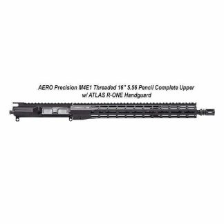 """AERO Precision M4E1 Threaded 16"""" 5.56 Pencil Complete Upper w/ ATLAS R-ONE Handguard, Black, APPG700604P39, in Stock, For Sale"""