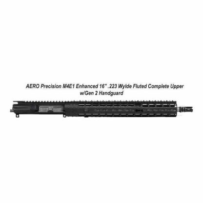 "AERO Precision M4E1 Enhanced 16"" .223 Wylde Fluted Complete Upper w/Gen 2 Handguard, Black, APPG640232F, in Stock, For Sale"