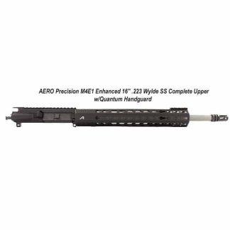 """AERO Precision M4E1 Enhanced 16"""" .223 Wylde SS Complete Upper w/Quantum Handguard, in Stock, For Sale"""