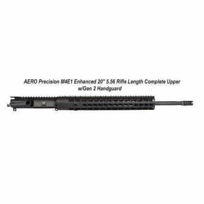 "AERO Precision M4E1 Enhanced 20"" 5.56 Rifle Length Complete Upper w/Gen 2 Handguard, Black, APPG640251P48, in Stock, For Sale"