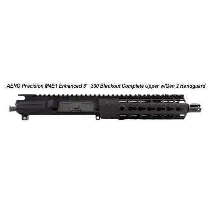 "AERO Precision M4E1 Enhanced 8"" .300 Blackout Complete Upper w/Gen 2 Handguard, Black, APPG600211P1, in Stock, For Sale"