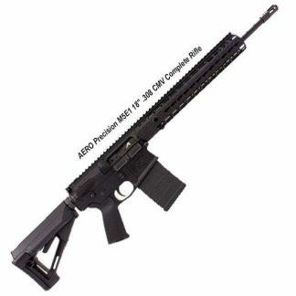 """AERO Precision M5E1 18"""" .308 CMV Complete Rifle, Black, APPG308013, in Stock, For Sale"""