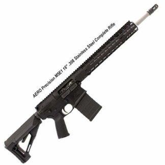 "AERO Precision M5E1 16"" .308 Stainless Steel Complete Rifle, 15 in Quad Rail, APCR308041, 0084001460483890, in Stock, for Sale"