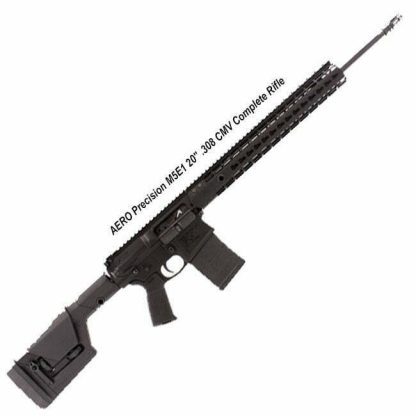 "AERO Precision M5E1 20"" .308 CMV Complete Rifle, Black, APPG308015, in Stock, For Sale"