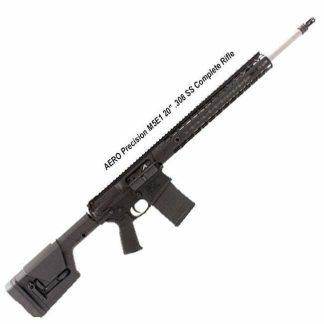 """AERO Precision M5E1 20"""" .308 SS Complete Rifle, Black, APPG308060, in Stock, For Sale"""