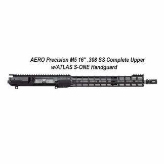 "AERO Precision M5 16"" .308 SS Complete Upper w/ATLAS S-ONE Handguard, APSR538105M23, 00840014609178, in Stock, For Sale"