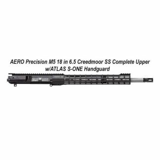 AERO Precision M5 6.5 Creedmoor SS Complete Upper w/ATLAS S-ONE Handguard, in Stock, For Sale