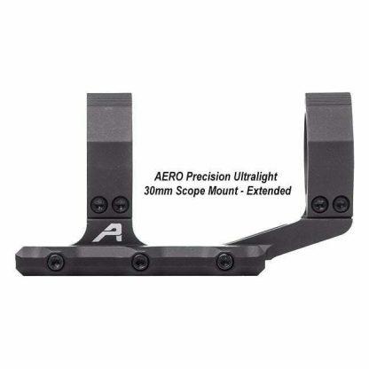 AERO Precision Ultralight 30mm Scope Mount - Extended, Black, APRA210500, 00815421020083, in Stock, For Sale