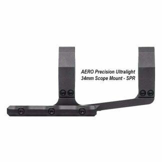 AERO Precision Ultralight 34mm Scope Mount - SPR, Black, APRA211311, 00815421024883, in Stock, For Sale
