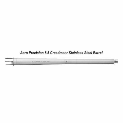 Aero Precision 6.5 Creedmoor Stainless Steel Barrel, 18 inch, APRH100435, 00815421025620, in Stock, For Salein Stock, For Sale