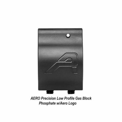 AERO Precision Low Profile Gas Block, Phosphate with Aero Logo, in Stock, For Sale