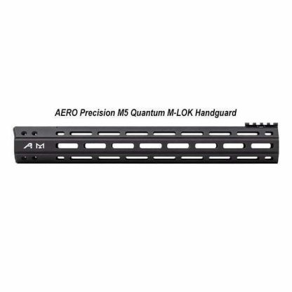 AERO Precision M5 Quantum M-LOK Handguard, 15 inch, Black, APRA410105AS, in Stock, For Sale in Stock, For Sale