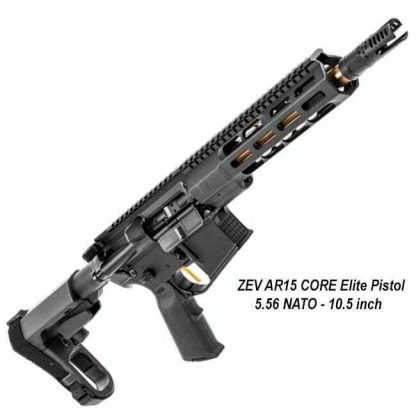 ZEV AR15 CORE Elite Pistol, AR15-CE-556-10.5-B, 811338034083, in Stock, For Sale