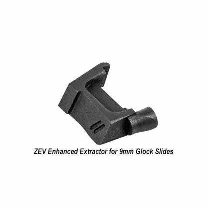ZEV Enhanced Extractor for 9mm Glock Slides, EXTR-9, 811338034793, in Stock, For Sale