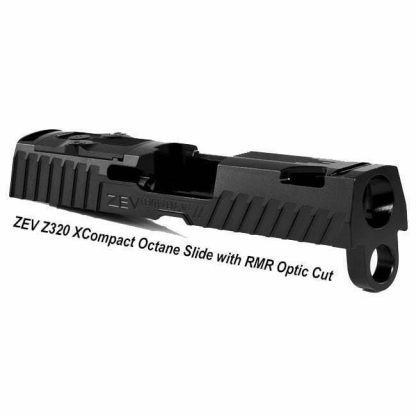 ZEV Z320 XCompact Octane Slide with RMR Optic Cut, Black, SLD-Z320-XCOMPACT-OCTANE-RMR-DLC, 811338035929, in Stock, For Sale in Stock, For Sale