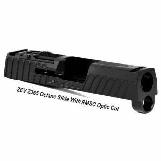 ZEV Z365 Octane Slide With RMSC Optic Cut, Black, SLD-Z365-OCTANE-RMSC-DLC, 811338035950, in Stock, For Sale