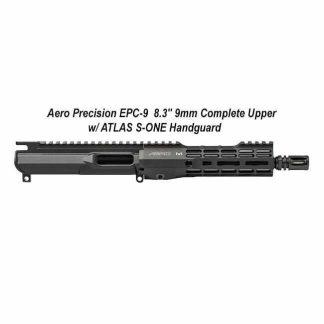 """Aero Precision EPC-9 8.3"""" 9mm Complete Upper w/ ATLAS S-ONE Handguard, Black, APAR620101M85, in Stock, for Sale"""