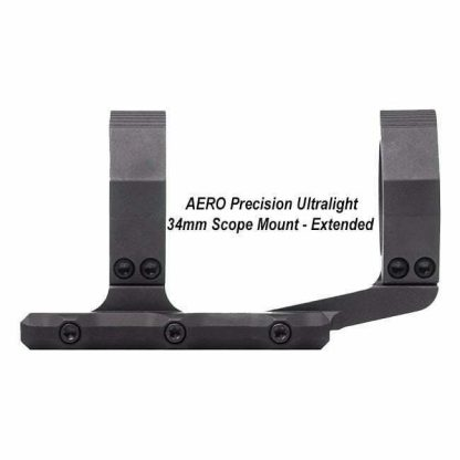 AERO Precision Ultralight 34mm Scope Mount - Extended, APRA211211, 00815421020861, in Stock, for Sale