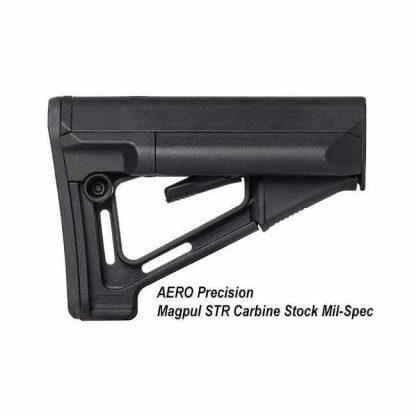 AERO Precision Magpul STR Carbine Stock Mil-Spec, APRH100196C, 00815421025415, in Stock, for Sale