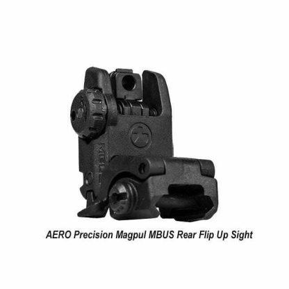 Aero Precision Magpul Rear Flip Up Sight, MBUS, APRH100337, 00840014607426, in Stock, for Sale