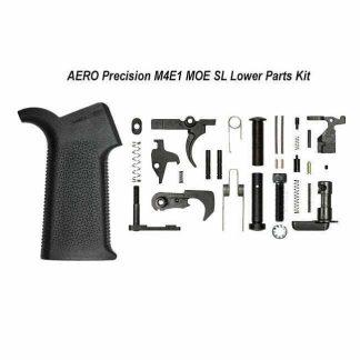 AERO Precision M4E1 MOE SL Lower Parts Kit, Black, APRH100970, 00815421027570, in Stock, For Sale