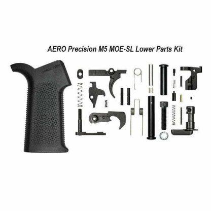 AERO Precision M5 MOE-SL Lower Parts Kit, Black, APRH100974, 00815421027655,in Stock, for Sale
