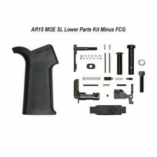 AERO Precision AR15 MOE-SL Lower Parts Kit Minus FCG, Black, APRH100982,00815421027518, in Stock, For Sale
