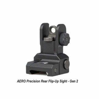 AERO Precision Rear Flip-Up Sight - Gen 2, APRH101120C, 00815421027716, in Stock, for Sale