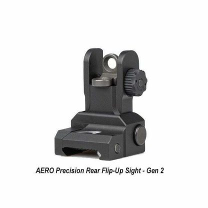 AERO Precision Rear Flip-Up Sight - Gen 2, APRH101120C, 00815421027716, in Stock, for Sale