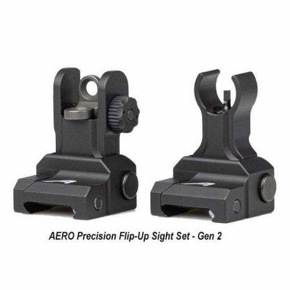 AERO Precision Flip-Up Sight Set - Gen 2, APRH101122, 00815421027693, in Stock, for Sale