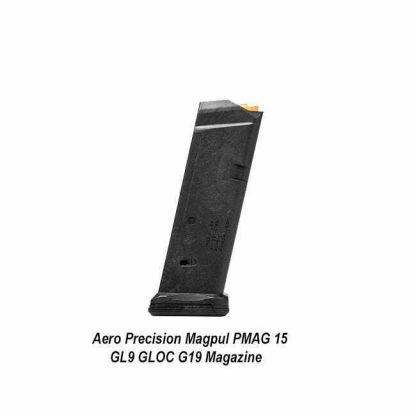 Aero Precision Magpul PMAG 15 GL9 GLOC G19 Magazine, APRH101169, 00840014607372, in Stock, for Sale