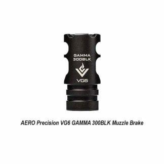 AERO Precision VG6 GAMMA 300BLK Muzzle Brake, APVG100003A, 00815421020236, in Stock, for Sale in Stock, for Sale