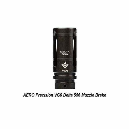 AERO Precision VG6 Delta 556 Muzzle Brake, Black Nitride, APVG100006A, 00815421020250, in Stock, for Sale