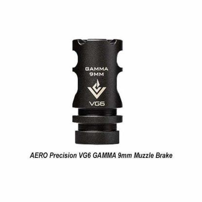 AERO Precision VG6 GAMMA 9mm Muzzle Brake, APVG100027A, 00815421026207, in Stock, for Sale