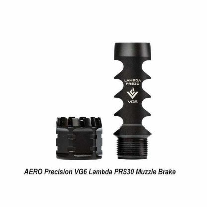 AERO Precision VG6 Lambda PRS30 Muzzle Brake, APVG100029AR1, 008154221026306, in Stock, for Salein Stock, for Sale