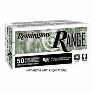 Remington 9mm Luger 115fmj, REMI28564, in Stock, for Sale