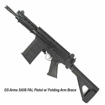 DS Arms SA58 FAL Pistol w/ Folding Arm Brace, in Stock, for Sale
